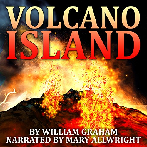 Volcano Island audiobook cover art