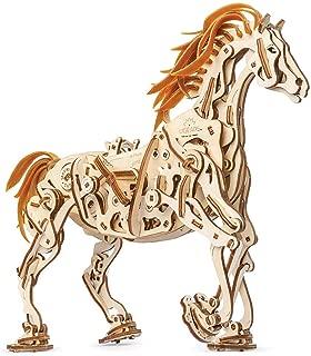 UGears Models 3-D Wooden Puzzle - Mechanical Horse Mechanoid
