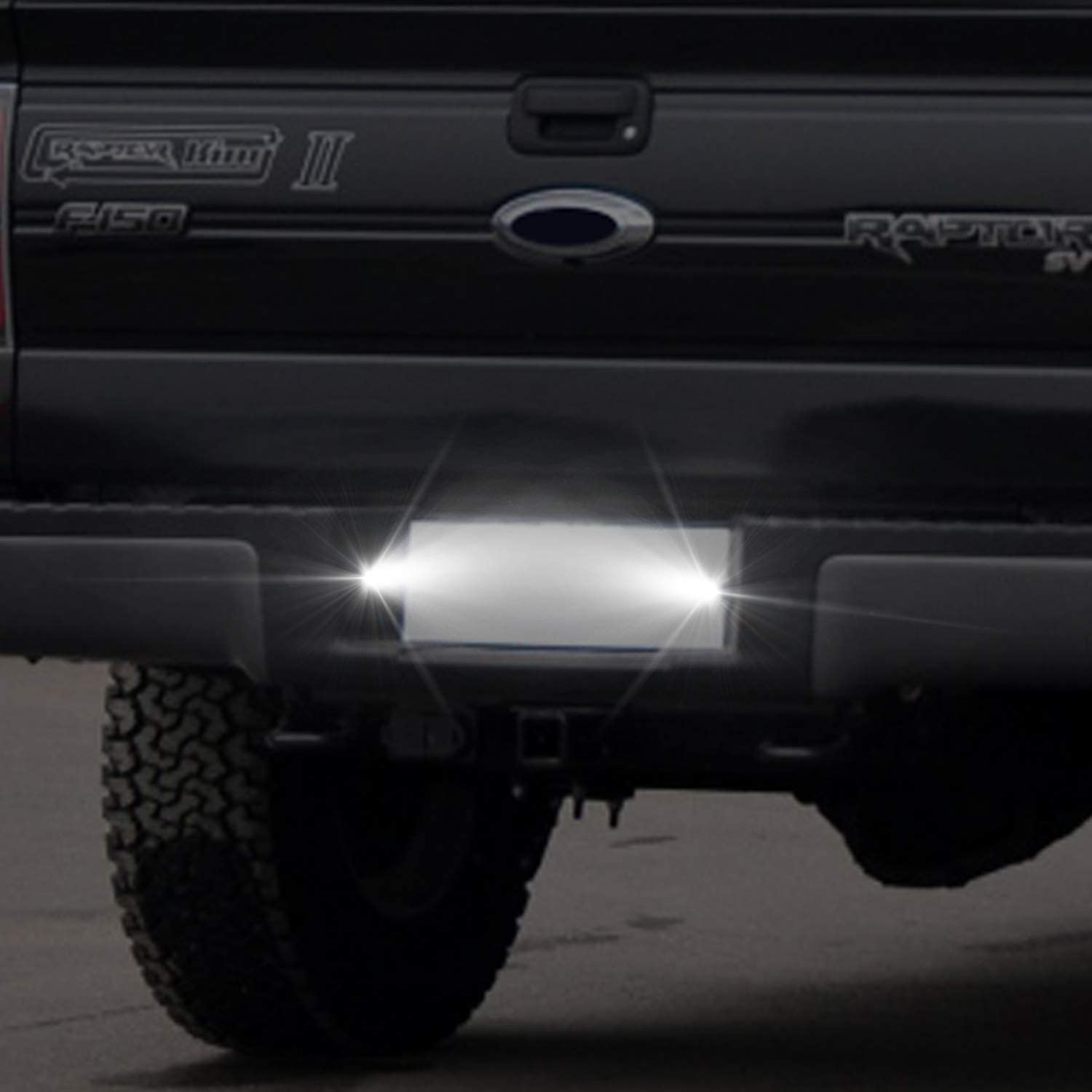 WinPower Led License Plate Frame Lights 18 SMD Error Free for Ford F150 2015-2018