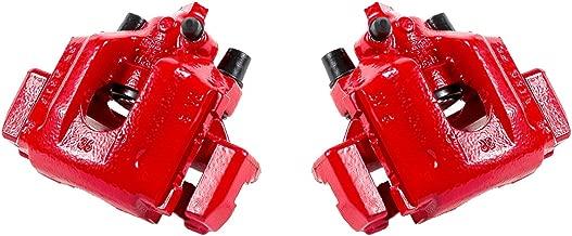 CCK11768 [2] REAR Performance [ E36 ] Red Powder Coated Semi-Loaded Caliper Assembly Set