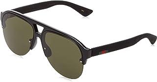 Gucci GG0170S Semi Rimless Pilot Sunglasses Size 59 mm