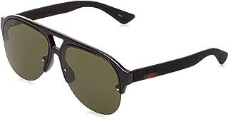 GG0170S 001 Shiny Black GG0170S Pilot Sunglasses Lens Category 3 Size 59m