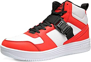 PEAK Casual Sport Shoes for Men Hight-top Breathable Mesh Non-Slip Culture Shoes