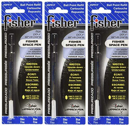 Fisher Space Pen 3 Kugelschreibermine Blau Fein