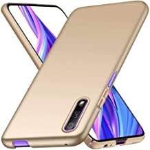 FanTing Case for Oppo A72 5G, [Ultra-Thin] [Anti-Drop] [Silk Feeling] protective Phone Case PC Hard Cover for Oppo A72 5G-Gold