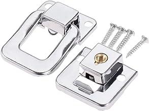 Hasp Wijn Houten Doos zaak Toggle Klink Koffer HASP de handtas Purse Sluiting Lock met schroeven 38 * 28mm