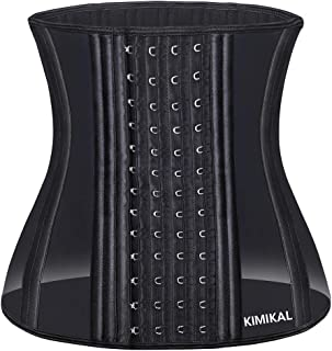 Waist Trainer Corset for Weight Loss -Faja Colombiana Latex Waist Trimmer Belt Waist Cincher Slimming Waist Shaper