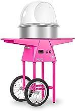 Royal Catering RCZK-SET3 Machine à Barbe à Papa Appareil Barbe a Papa Professionnel avec Chariot (1.030 W, Ø 52 cm, 1 Unit...