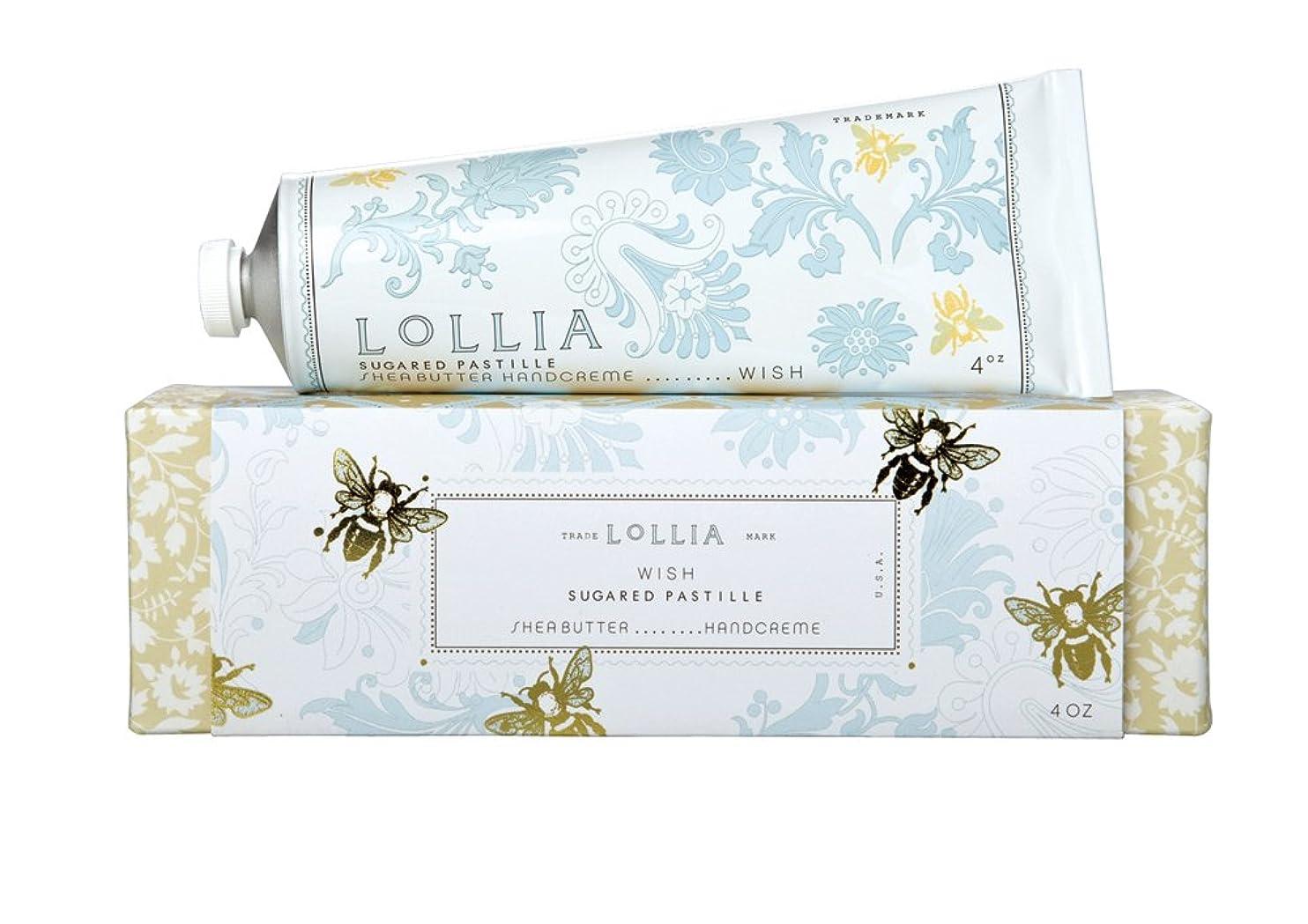 動揺させるセーブの間にロリア(LoLLIA) ハンドクリーム Wish 35g (白い花にしたたる蜜とバニラの甘く切ない願い)