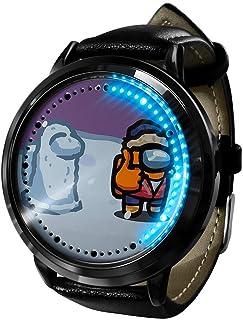 Among Us Klok Horloge LED Touch screen waterdicht digitaal licht Klok Horloge Unisex Cosplay Gift Nieuwe horloges Gift voo...