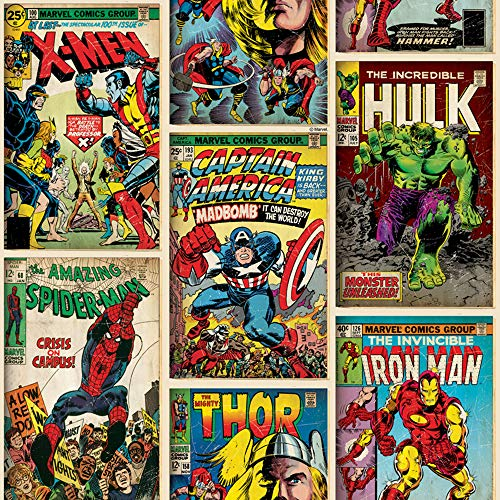 Graham & Brown 70-238 papierbehang Marvel Action Heroes collectie Kids@HOME IV