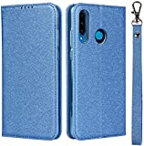 Mking Tech Protectors Leather Case for Huawei P 30 Lite,