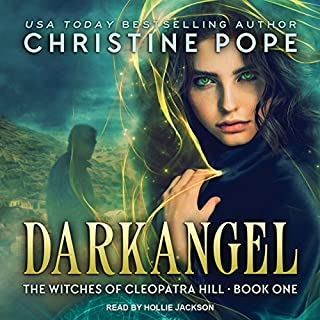 Darkangel audiobook cover art
