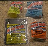 Mcdonalds 1993 Makin' Movies Set of 4 Happy Meal Toys