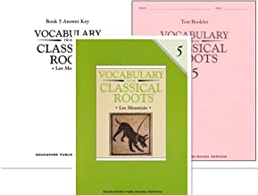 Vocabulary from Classical Roots Grade 5 SET -- Student Book, Test Booklet and Answer Key