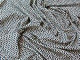 Mango Banjo Geometrische Retro Print Baumwolle Popeline