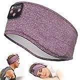 Sleep Headphones, Perytong Bluetooth Sports Headband Headphones with Ultra-Thin HD Stereo Speakers Perfect for Sleeping,Workout,Jogging,Yoga,Insomnia, Air Travel, Meditation