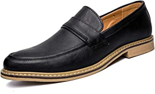 [HYF] メンズ シューズ ビジネス 革 男性 紳士靴 シンプル 革靴 通勤