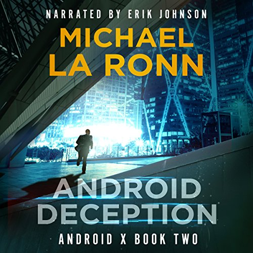 Android Deception audiobook cover art