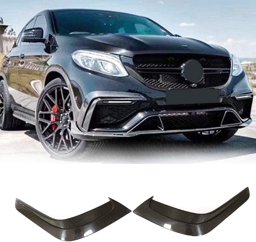 MCARCAR KIT Our shop OFFers the best service Carbon Quality inspection Fiber Front Bumper Fits for Vent Mercedes Ben
