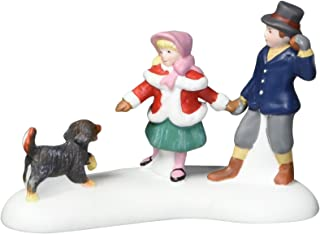 Department 56 Dickens' Village Playing With A Puppy Accessory Figurine
