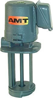 AMT Pump 5380-95 Immersion Coolant Pump, Cast Iron, 1/8 HP, 1 Phase, 115/230V, Curve A, 3/8