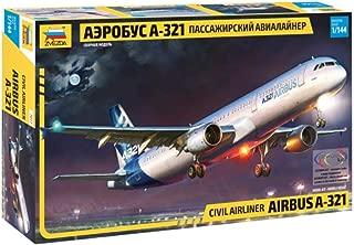 Zvezda 7017 - 1/144 Airbus A-321 Model Kit