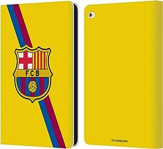 Head Case Designs Oficial FC Barcelona Segunda equipación 2019/20 Crest Kit Carcasa de Cuero Tipo Libro Compatible con iPad Air 2 (2014)