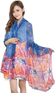 Multi Color Arhangay Design Voile Shawl Scarf Wrap Stole Pashmina CJ Apparel NEW