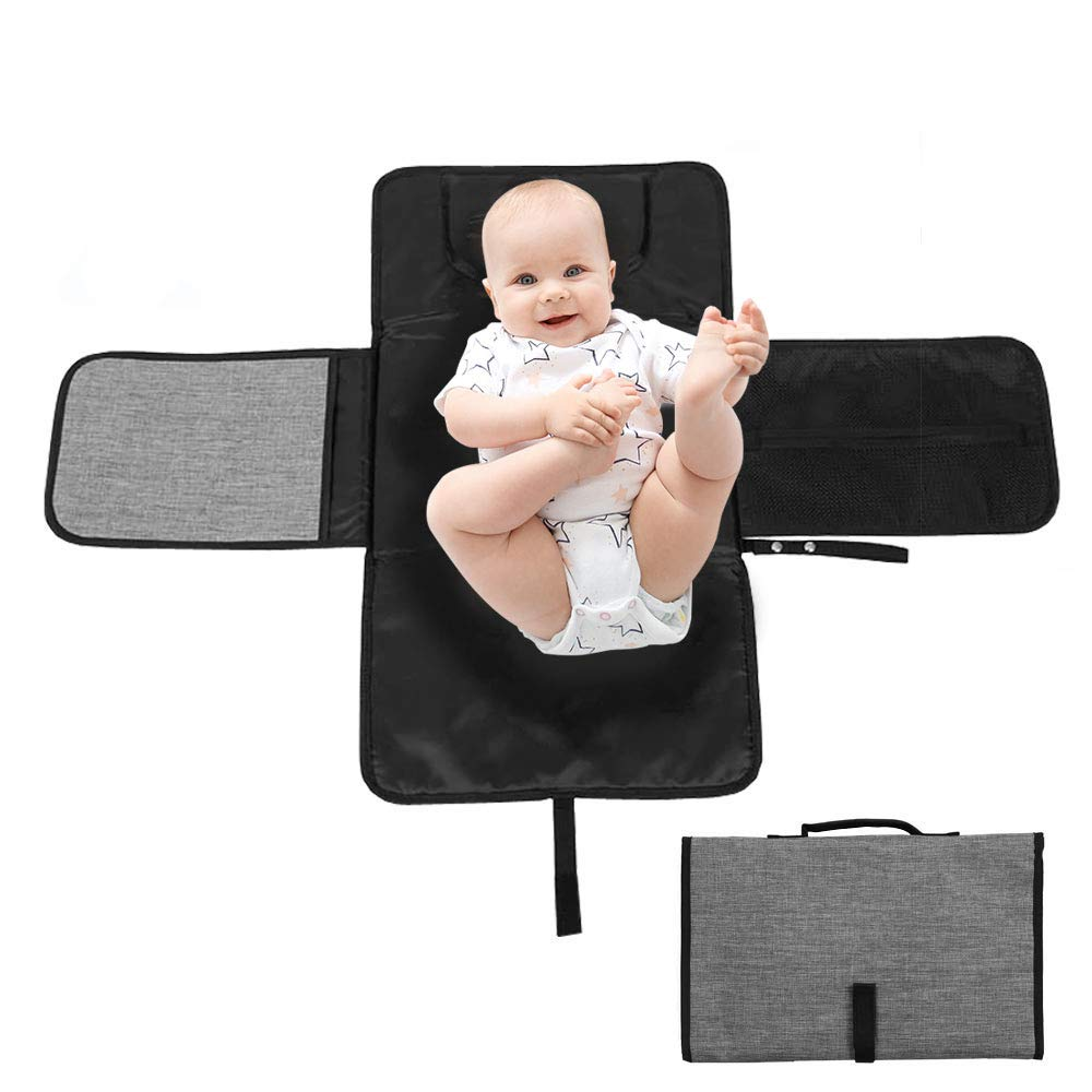 Eutuxia Portable Baby Diaper Changing Houston Mall with Denver Mall Cushion. Pad Head Goo