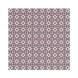 Sottobicchieri per bevande vintage rosa rosso Barcellona fiore nastro quadrato sottobicchieri in pelle tazze di tazze tappetini per caffè birra tè tazza vino casa ufficio cucina bar 9,9 cm