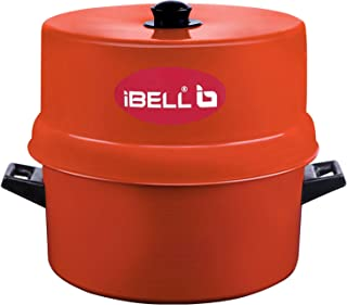 iBELL 1.5 KG Aluminium Steam Pot Thermal Rice Cooker, Induction Based Pot