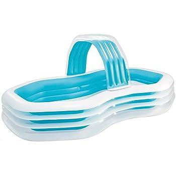 ASAB Piscina inflable grande para familia | para niños y adultos ...