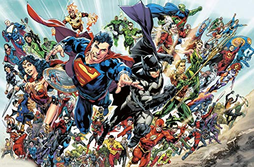 Justice League Rebirth Wall Poster, 22.375