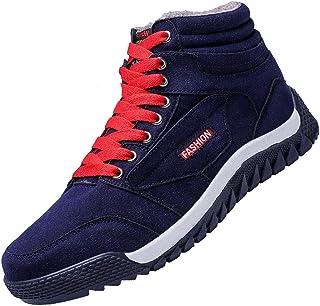 [MODEFEEL] スノーブーツ メンズ ムートンブーツ ウィンターブーツ防水 防寒靴 スノーシューズ 防滑 アウトドアシューズ ウィンターブーツ 綿雪靴 裏起毛 滑り止め