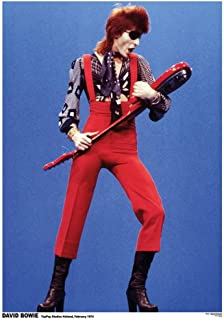 David Bowie- Holland 1974 Poster 23 x 33in