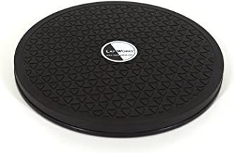 LapWorks 8 inch Heavy Duty Swivel - for Computer Monitors, Potted Plants, Art, and Various Utility uses with Steel Ball Bearings