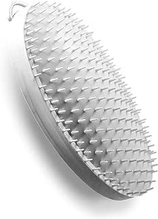 Exfoliating Brush by WIZKER, Original Wet Dry Scrub Eliminates Razor Bumps, Prevents Ingrown Hair for Men and Women, Face, Neck, Beard, Underarms, Bikini, Legs