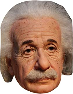 Albert Einstein Celebrity Mask, Card Face and Fancy Dress Mask