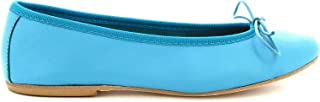LEONARDO SHOES Luxury Fashion Womens 5189LIGHTBLUE Light Blue Flats | Season Permanent