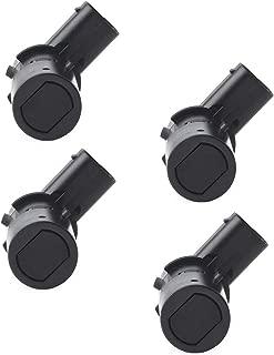 Issyzone 4Pcs Backup Sensor for Ford F150 Expedition Explorer Escape Rear Parking Assist Sensor Reverse Sensor 3F2Z15K859BA 4F2315K859AA T36006