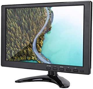 """10.1"""" Inch TFT LCD Monitor with HDMI/VGA/AV Input, Universal 1280X800 16:10 HD Color Screen Display Built-in Speaker Wides..."""