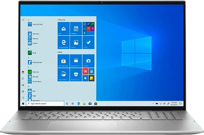 Dell Inspiron 17 2-in-1 QHD+ Touchscreen Laptop Intel i7-1165G7 32GB RAM 1TB SSD, Lightweight Thin Design, Backlit Keyboard, Fingerprint Reader, Wi-Fi 6, Webcam with Privacy Shutter, USB-C, Windows 10