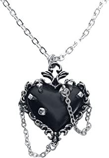 Alchemy of England Witches Heart Pendant, Silver
