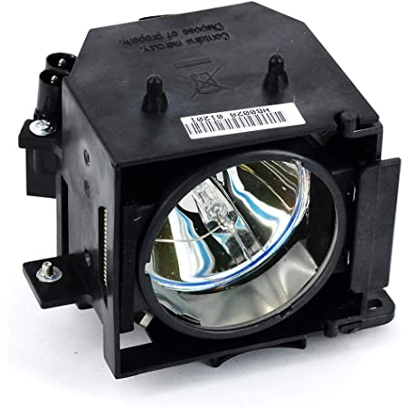 Replacement for Epson Elplp65 Bare Lamp Only Projector Tv Lamp Bulb by Technical Precision
