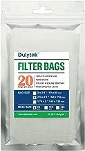 Dulytek Filter Bags, 2.5 x 4.5 inches, 25 Micron, 20 Pcs, Nylon Screen