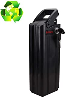 BRIGHT GG NAKTO 36V 10Ah Lithium Ebike Battery Pack Electric Bicycles Battery fit 250W-500W Electric Bike Motor