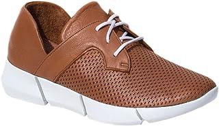 Elska Vayah Solid Tan Sneakers