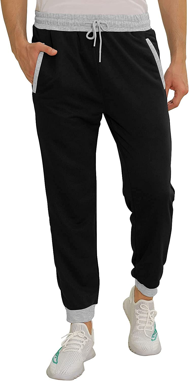 Aloodor 67% OFF of fixed price Mens Sweatpants Joggers Pants Color Same day shipping Casual Zi Block with