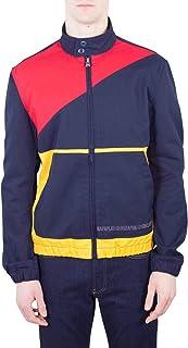 NAPAPIJRI Tribe Mens - Coach Jacket Blue Colorblock